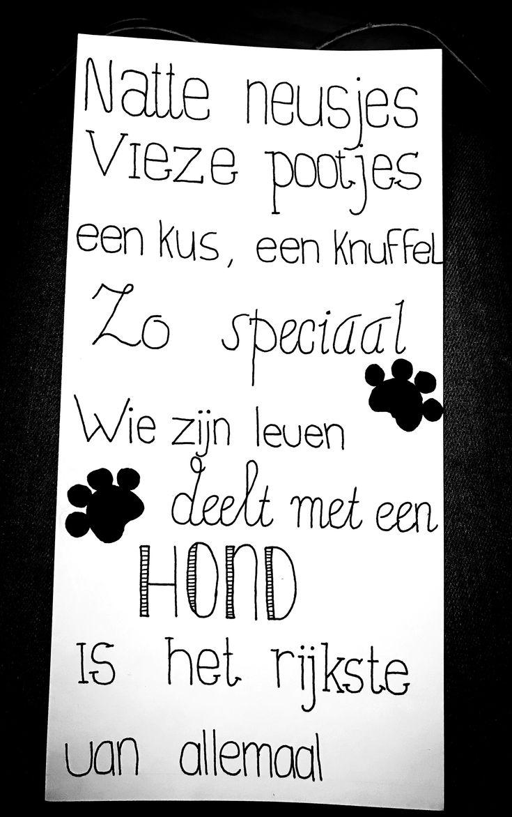 Voor de dog-lovers  Plankje: €10,- Info@fashionbylola.nl 0621172237 FB+ Instagram: handletteringdaan