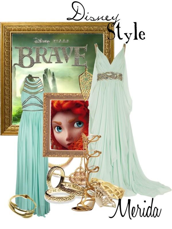 """Disney Style : Merida"" by missm26 ❤ liked on Polyvore"