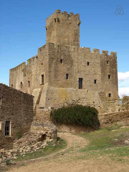 A trip to the Middle Ages in a Castle - La Segarra, Catalonia, Spain - Airbnb