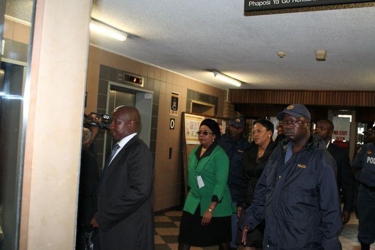 Gauteng Premier Nomvula Mokonyane