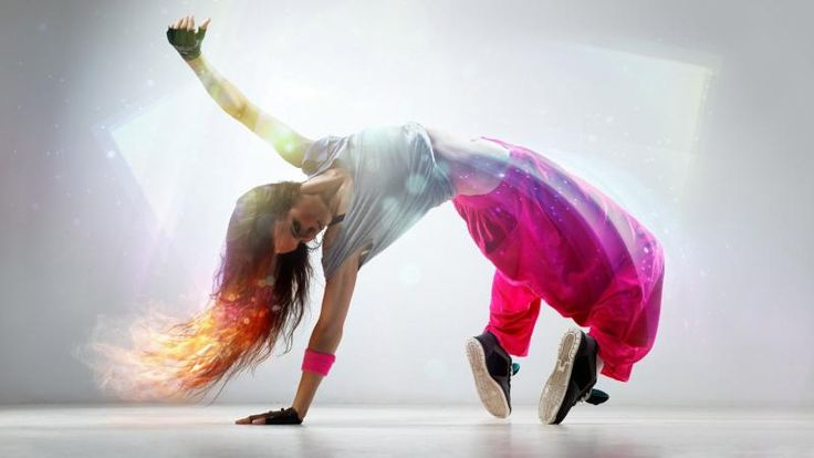 Superb Breakdance Girl