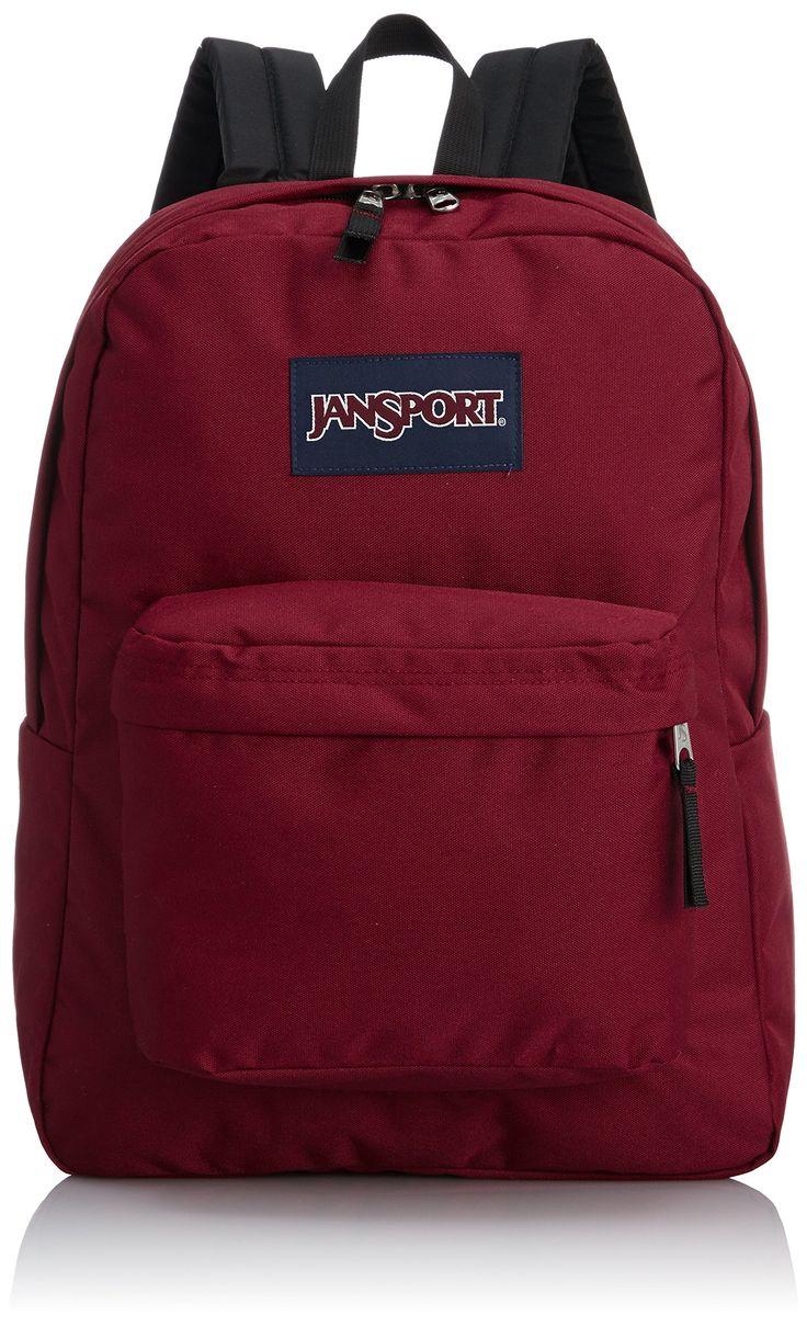 Amazon.com: JanSport Classic SuperBreak Backpack, Viking Red: Sports & Outdoors