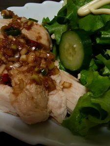 茹で鶏(白切鶏)・ねぎしょうがだれ by 西山京子/ちょりママ   レシピサイト「Nadia   ナディア」プロの料理を無料で検索