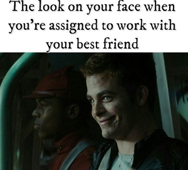 Jw humor, I did the same face at my best freind. She thought I was crazy for a second and then I told her that we had a talk together.