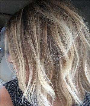 Dark blonde to light