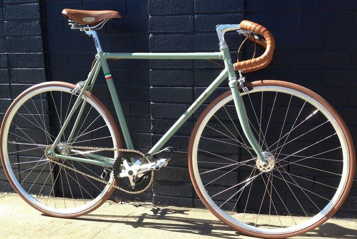 Pergusa Fixie Amp Free Wheel Vintage Bicycle Cycling