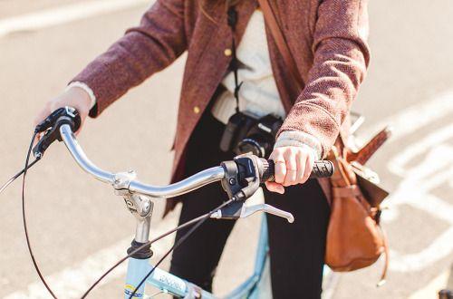 bike, cycle, style, fashion, comfy, cardigan, jeans