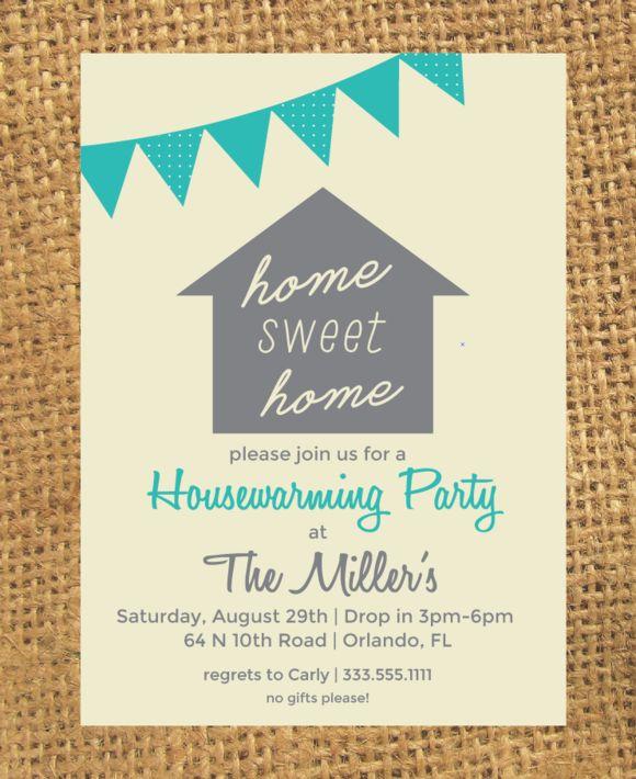 Perfekt Housewarming Invitation By CarlysCustoms On @creativemarket
