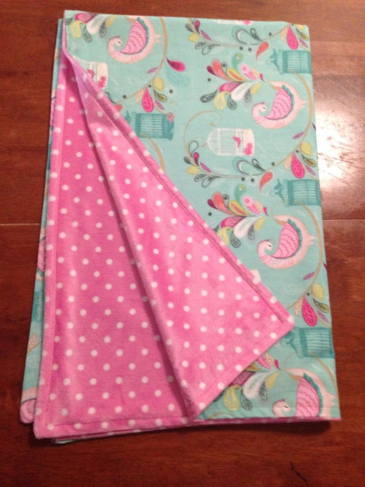 Cotton and minky pram blanket.  www.facebook.com/druberryblankets