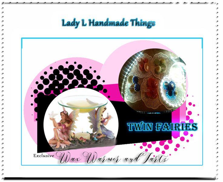 Twin Fairies Oil Warmer/ShowPiece/ Wax Melts/Tarts for Summer/Scented wax/Tart Warmer/Candles and Warmer/Twin Fairy Oil Warmer/ Magic by Cute1Lori on Etsy