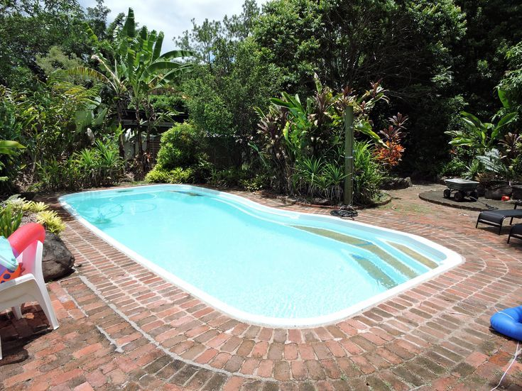 What Are The 4 Types Of Inground Pools Small Inground Pool Vinyl Pools Inground Inground Fiberglass Pools