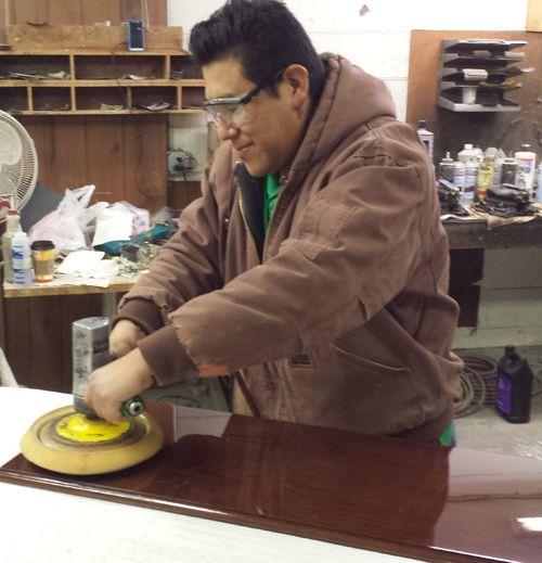 Walter Piano Polishing Parts