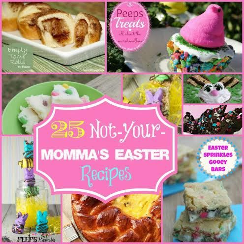 25 Not Your Momma's Easter Recipes via @contestpatti