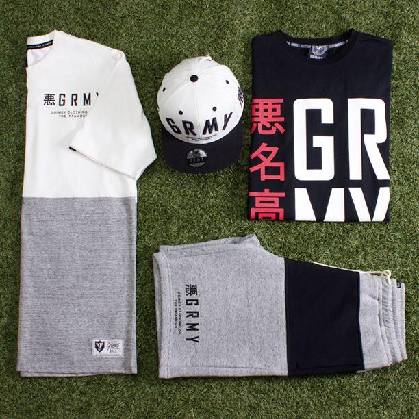 Ideas para combinar #grimey. #camisetas #gorras #pantalones en #sportnova