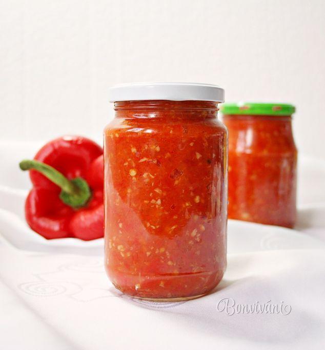 Ostro - sladká papriková nátierka