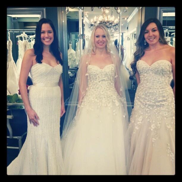 Morning Fashion Show at Mon Amie Bridal Salon in Orange County, CA
