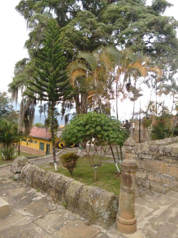 Parque El Convento, Socorro, Santander.