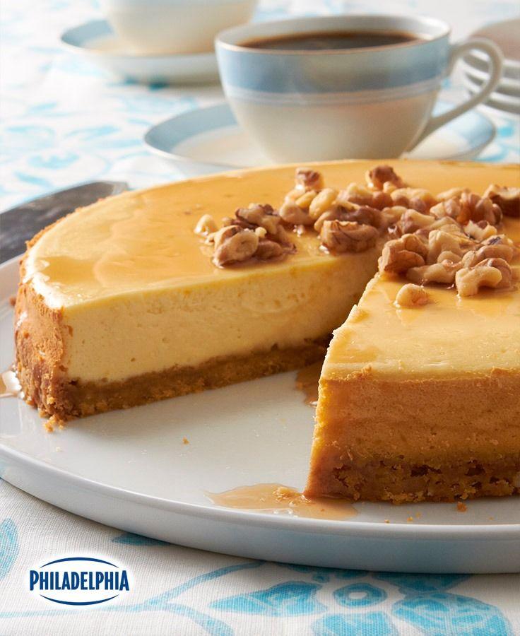 Gâteau au fromage de la cabane à sucre à l'érable et aux noix #recette