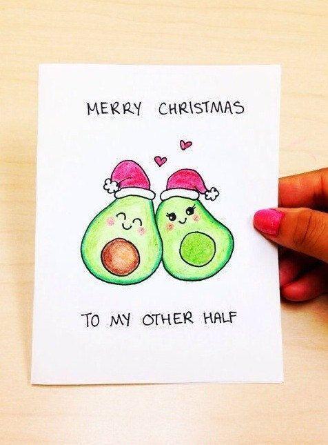 44 lustige DIY Weihnachtskarten für Urlaubsfreude