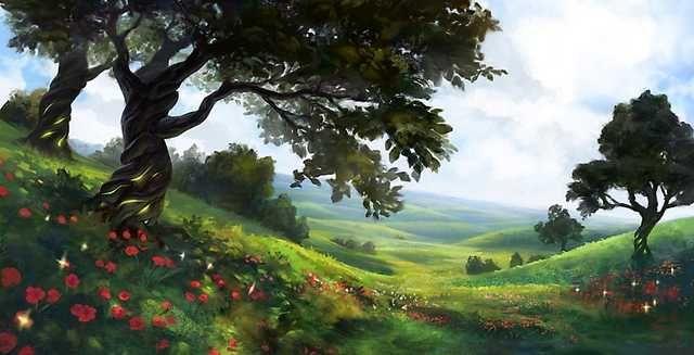 Fantasy Art Collection In 2020 Fantasy Landscape Summer Landscape Landscape Concept