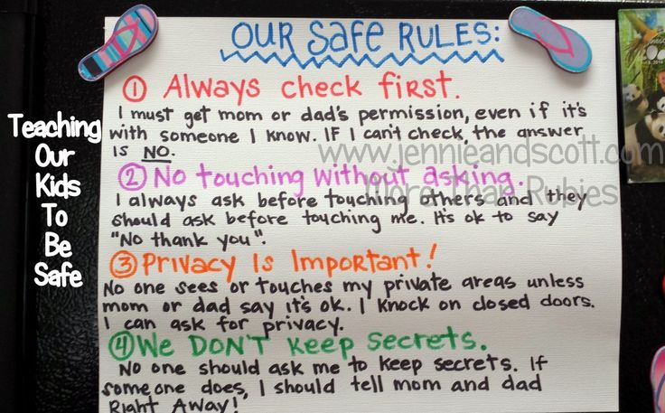 Teaching Our Kids to Be Safe - More than Rubies