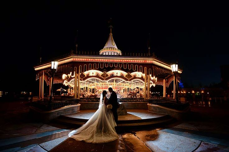 This fairy tale inspired portrait session at Disney's Magic Kingdom Park just took our breath away