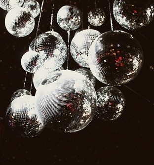 Multiple mirror (Disco) balls!