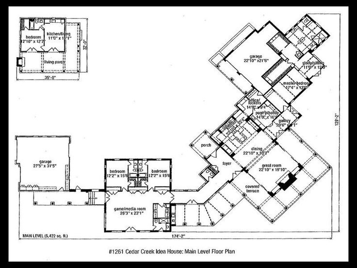 17 best images about ranch style home plans on pinterest for Sprawling ranch house plans