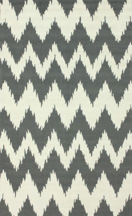 RECEPTION - RUG OPTION  Rugs USA Radiante Nuo Chevron Ikat Soft Grey Rug