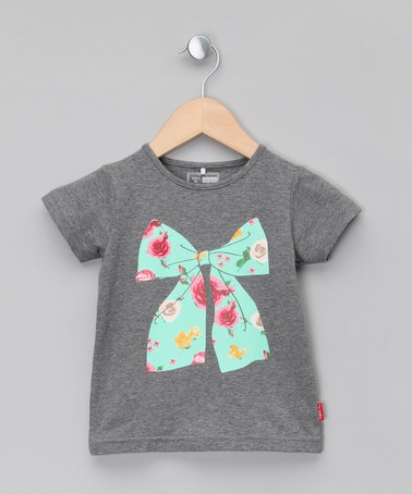 Grey Bow T-shirt