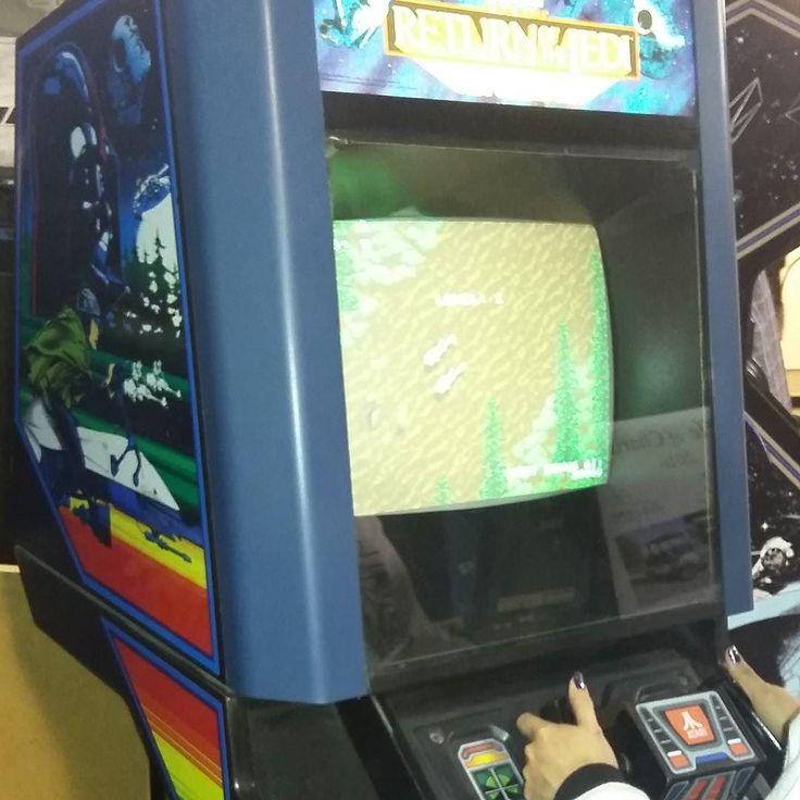 You'd like this one by mannys_arcade #neogeo #microhobbit (o) http://ift.tt/1oriVnT wife playing some Stars wars return of the jedi Arcade #starwars #returnofthejedi #starwars  #darthvader #arcades #gaming #gamer #videogames #gamerlife  #pinball #retro #classic #classics #jamma  #pcb #oldschool #backintheday #backinthedays #highscores #80s #90s #nintendo #atari #stern #dataeast #capcom #sega #konami  #supernintendo
