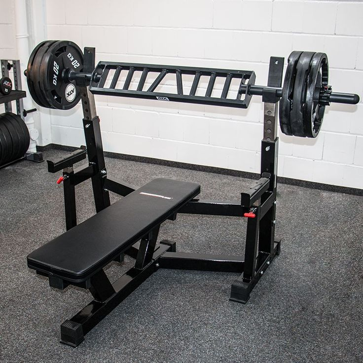 Used Bench Press With Weights Part - 46: A Cross Between A Football Bar And A Swiss Bar, The ATX American Press Bar  Is Perhaps More Multi-functional Than The Two. Most Commonly Used To Reduce  ...