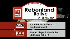 BRR Onboard Videos - Rebenland Rallye 2017 auf Vimeo Baumschlager Raimund Skoda Fabia R5