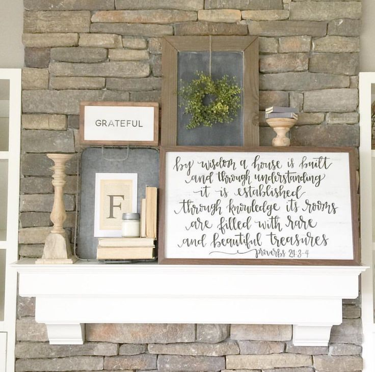 By wisdom a house is built - Proverbs 24:3-4 // rustic wood sign // hand lettered sign // farmhouse decor by ImperfectDust on Etsy https://www.etsy.com/listing/277204402/by-wisdom-a-house-is-built-proverbs-243