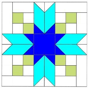 Make a Blackfords Beauty Quilt Block with my Free block pattern lessons