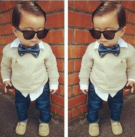 If I had a boy this is how I would want to dress him!