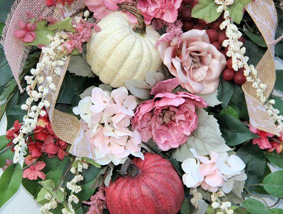 Elegant fall wreath XL fall wreath Deluxe fall wreath