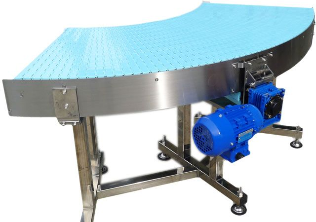 NEXUS Curve conveyor-provides you with flexible layout in turning. nexus-spiral.com