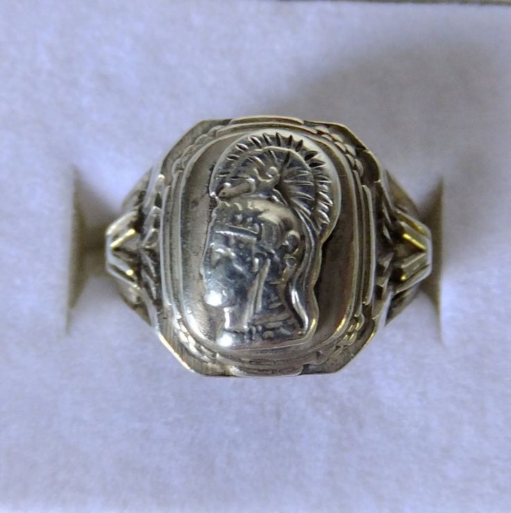 Wwii Wac Waac Officer Insignia Victory Ring Sterling