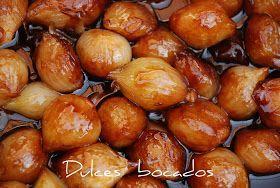 Dulces bocados: Cebollitas caramelizadas