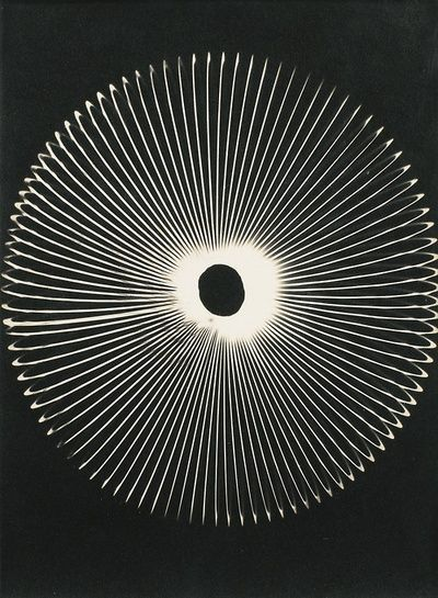 Man Ray, Untitled Rayogram, 1959 MAN RAY : ( 1890 - 1976 ) Surrealism / Dada / Photographer : More At FOSTERGINGER @ Pinterest