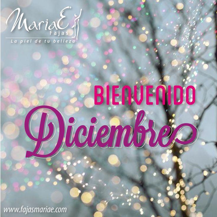 ¡Bienvenido Diciembre! Mes de alegría y compartir con nuestra familia y amigos. Feliz mes para todos. #welcomedecember #happydecember #fajasmariae