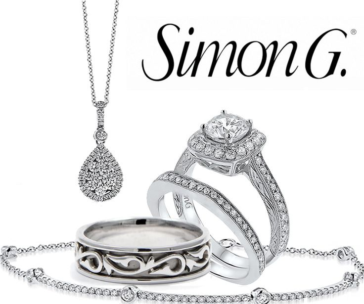We are ecstatic to carry the wonderful Simon G. brand! All Simon G. jewelry showcases premium craftsmanship and materials. Come see our marvelous collection of Simon G jewelry and other designer brands including: Forevermark, Ritani, Mikimoto, Rolex, Omega, Montblanc, and so much more!