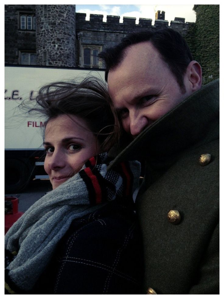 Mark Gatiss and Louise Brealey from Mark's Twitter
