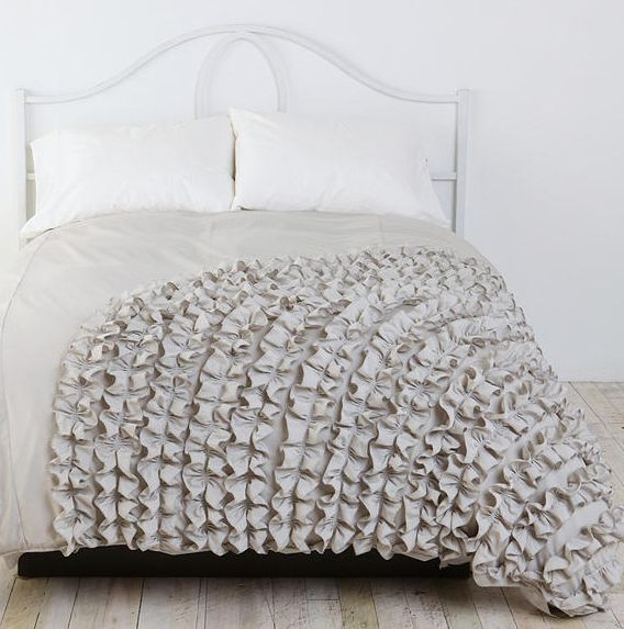 Ruffle Comforter something to think about