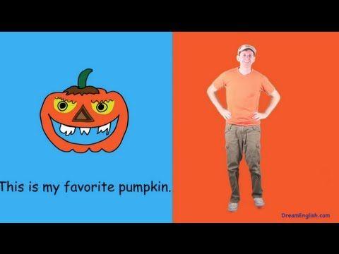 ▶ Pumpkin Halloween Dance Song for Kids - YouTube