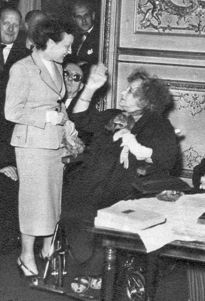 Edith Piaf avec Colette