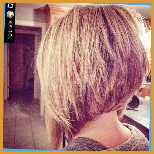 21 Hottest Stacked Bob Hairstyles Hairstyles Weekly Intended For ...