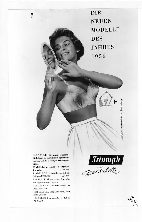 Looking back in time to this 1950s Triumph ad #tbt
