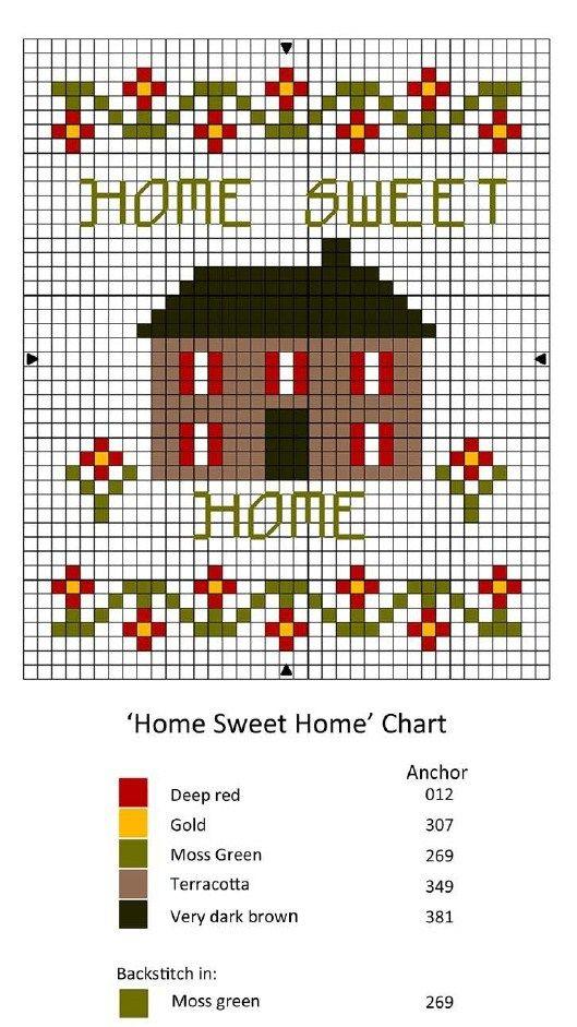 miniature needlework chart by Janet Granger